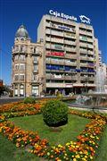 Plaza de Santo Domingo, Leon, España