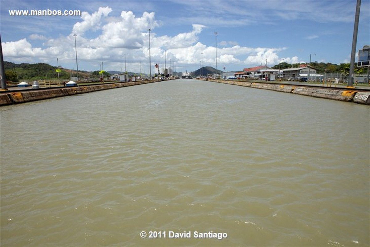 Panama Miraflores Locks Panama