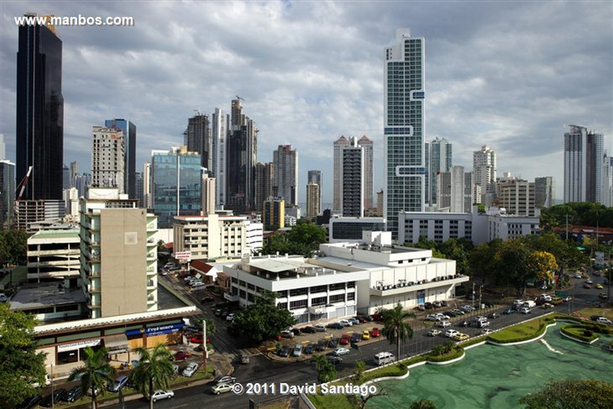 Panama Buildings In Panama City Panama
