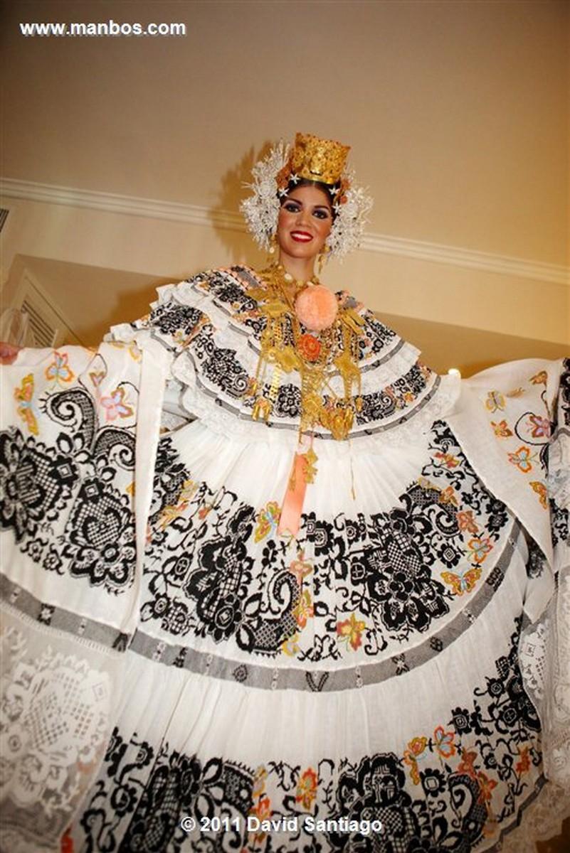 Panama Carnival In Panama City  misses Yinnela Yero Torres Panama