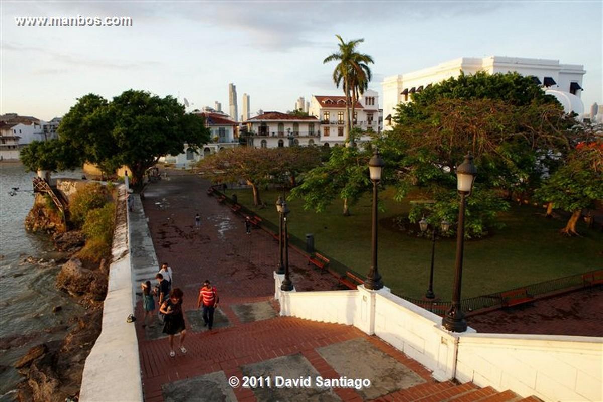 Panama Old Quarter Panama City Plaza Francia Panma