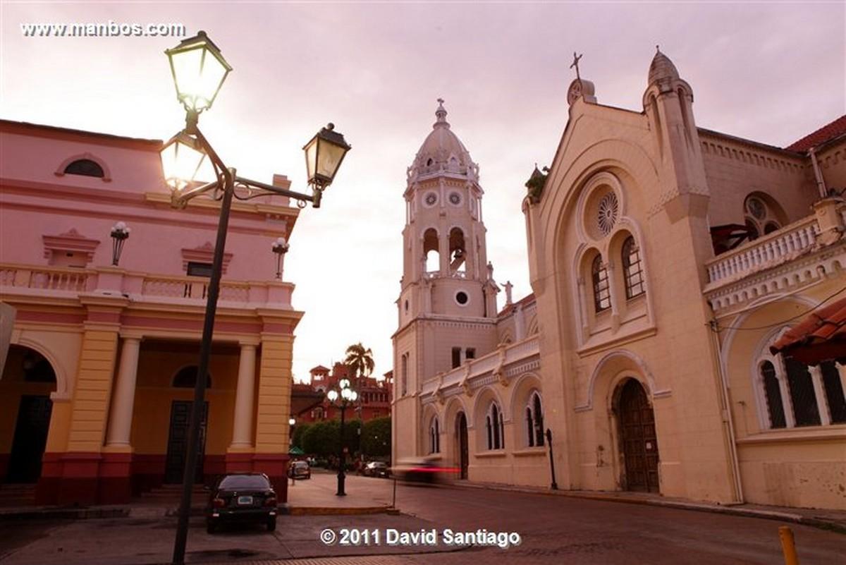 Panama Old Quarter Panama City Church Of San Felipe Neri Chancery Building Panma