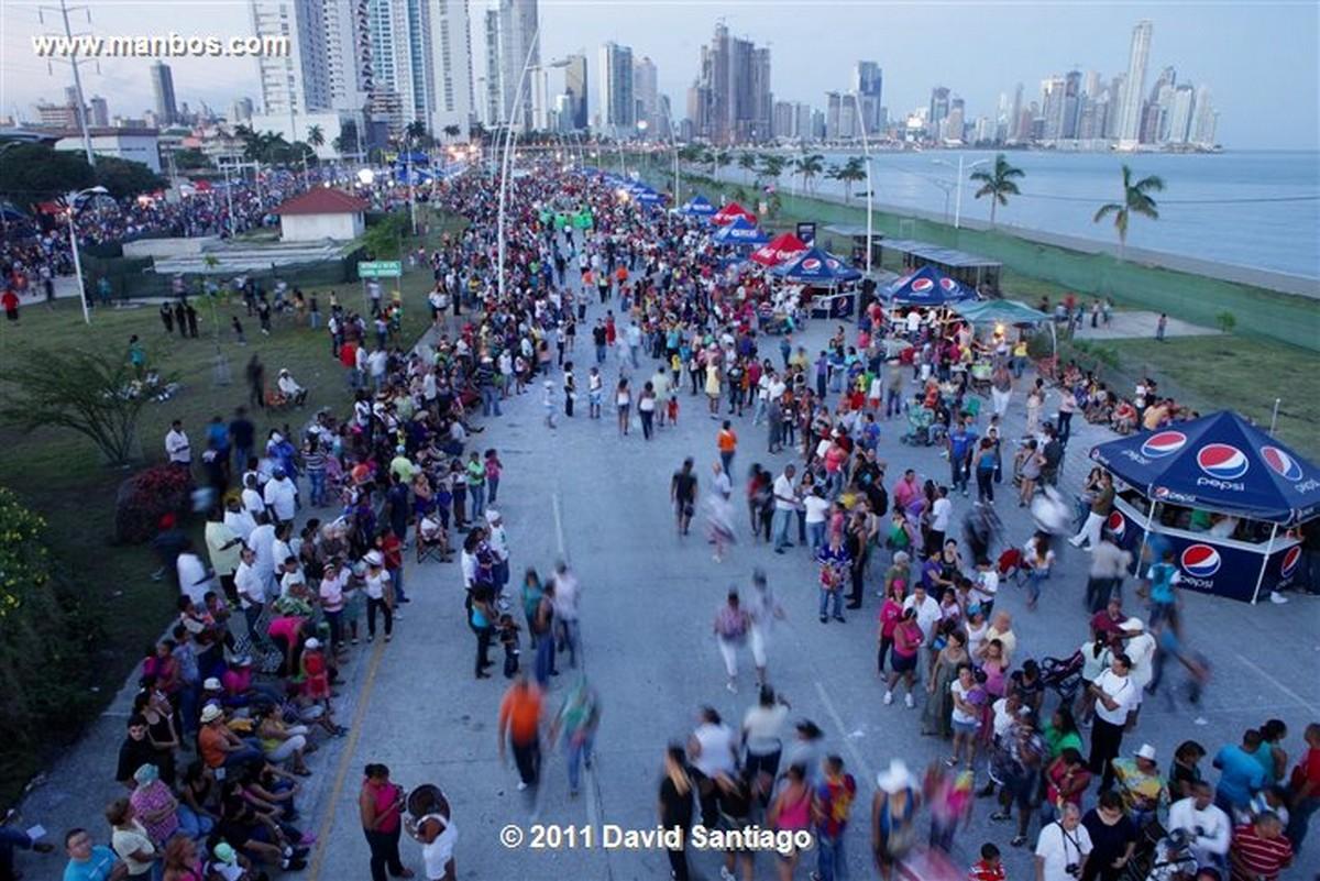 Panama Police In Panama City Panama