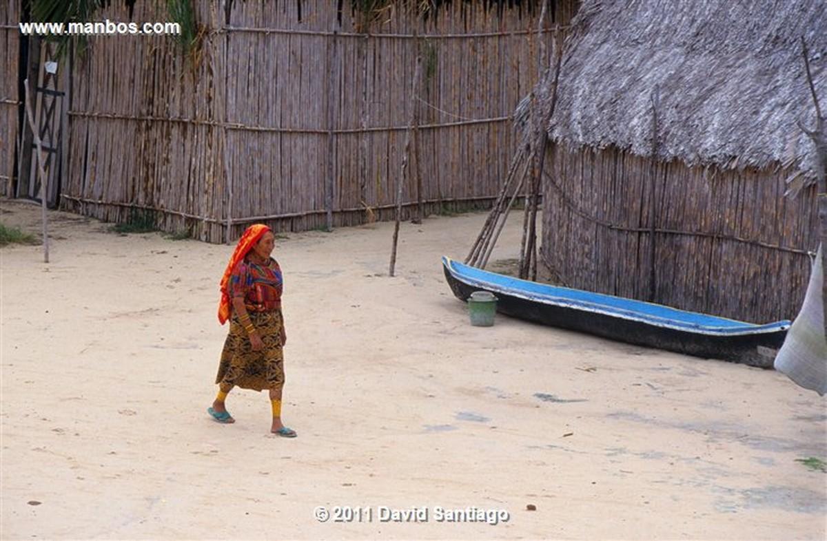 Panama Island In The San Blas Archipelago In The Kuna Yala Panama