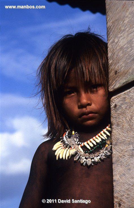 Panama Embera Indians In The Darien Province Panama