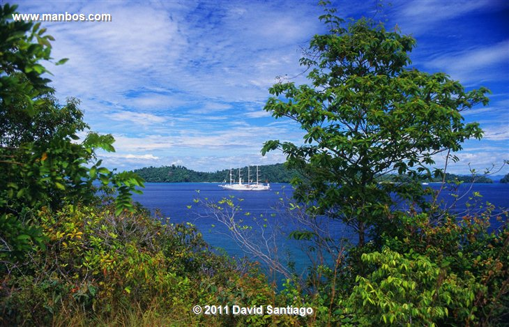 Panama Open Skies  small Islands And The Lush Coast Of The Veraguas Panama