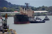 Photo of Panama, Panama - Miraflores Locks Boat Going Through The Miraflores Locks Pacific Ocean