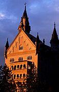 Castillo de Neuschwanstein, Castillo de Luis II, Alemania