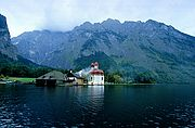 Lago Konigssee, Lago Konigssee, Alemania