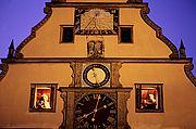 Foto de Rotemburgo, Alemania - Glabete frontispicio de la taberna de los concejales Rothenburg