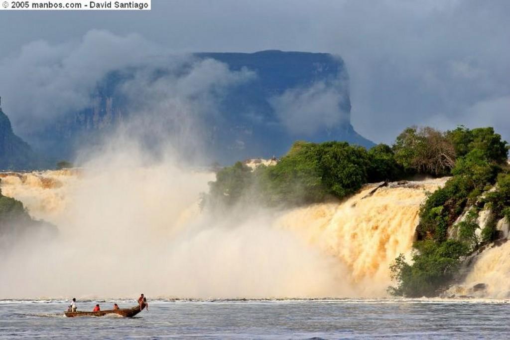 Parque Nacional Canaima El Salto del Angel Bolivar