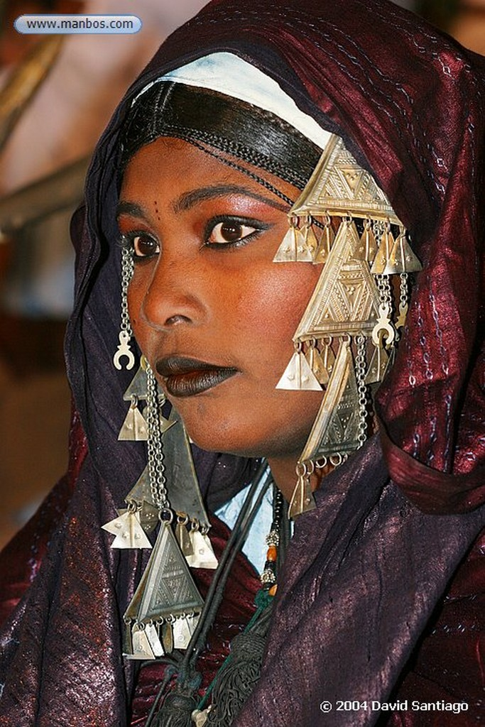 Tamanrasset Mujeres Tuareg en Tamanrasset - Argelia Argelia