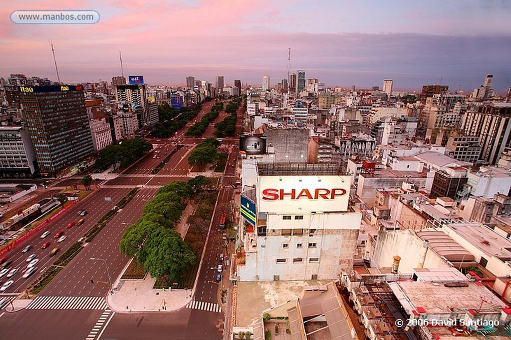 Foto de Buenos Aires, Argentina - Avenida 9 de Julio Buenos Aires