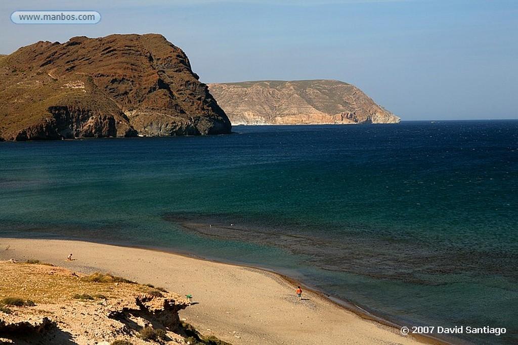 Cabo de Gata PLAYA DE LAS NEGRAS Almeria