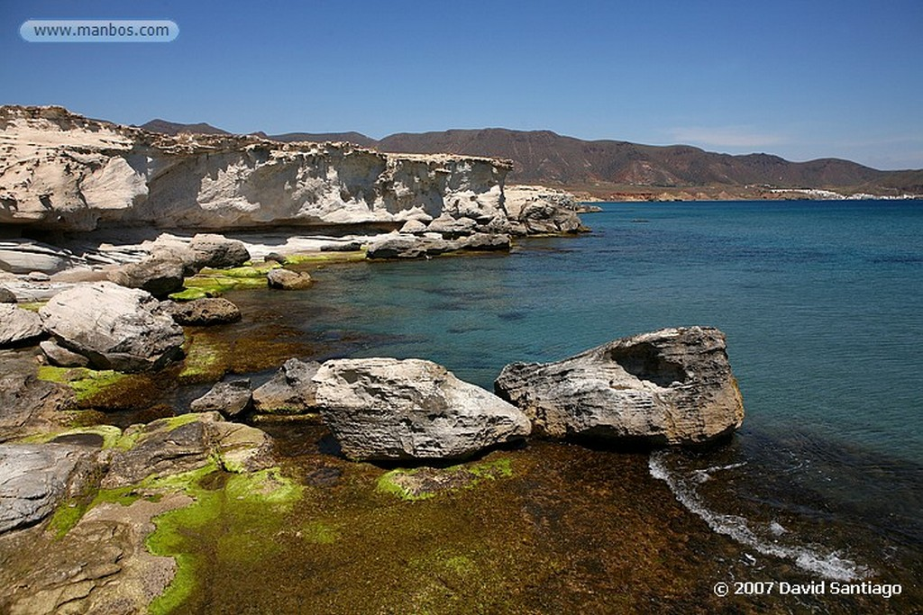 Cabo de Gata EL EMBARCADERO, LOS ESCULLOS Almeria