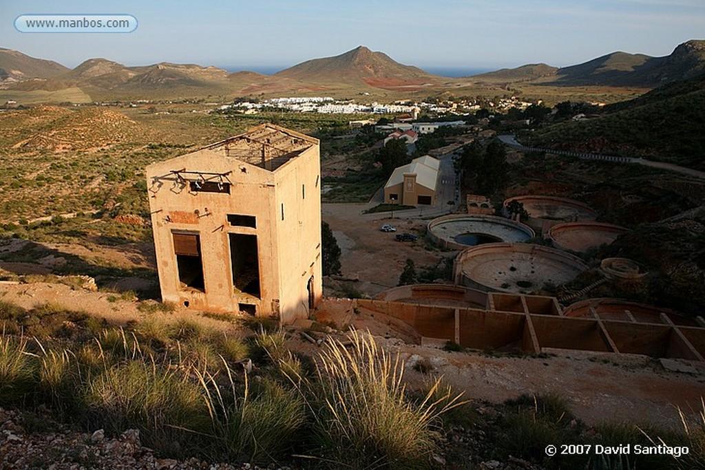 Cabo de Gata MINAS DE RODALQUILAR Almeria