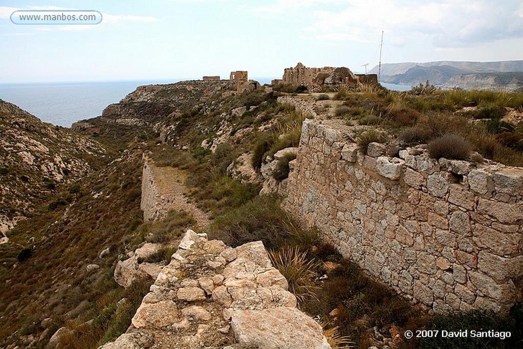 Cabo de Gata CARGADERO DE MINERAL DE AGUA AMARGA Almeria