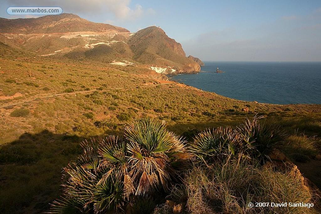 Cabo de Gata BARCAS DE PESCADORES EN LA ALMADRABA DE MONTELEVA Almeria