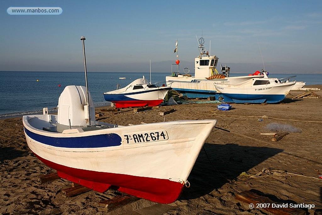 Cabo de Gata REDES EN LA FABRIQUILLA Almeria