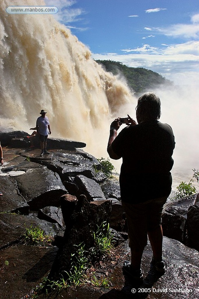 Parque Nacional Canaima Salto Sapito Bolivar