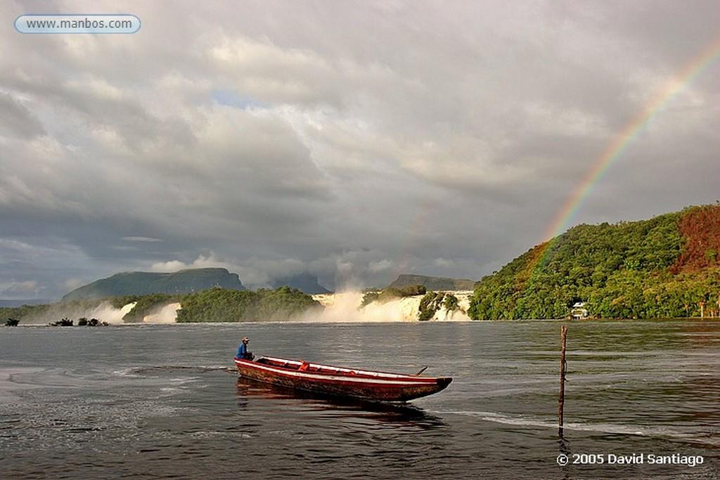 Parque Nacional Canaima Laguna de Canaima Bolivar