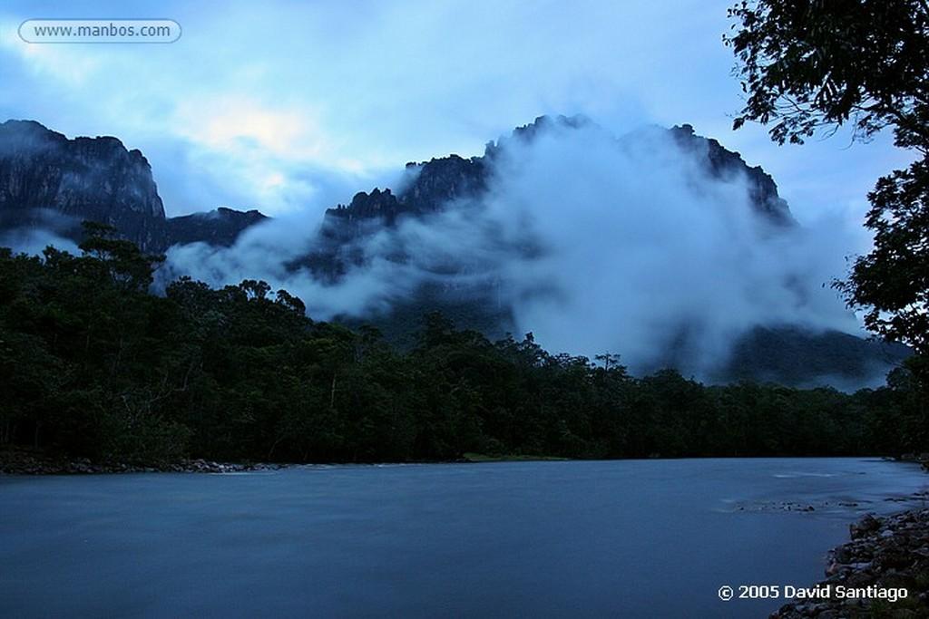 Parque Nacional Canaima Gallinazo en el Auyan Tepui Bolivar