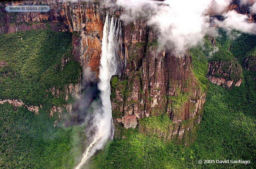 Parque Nacional Canaima Auyan Tepuy Bolivar