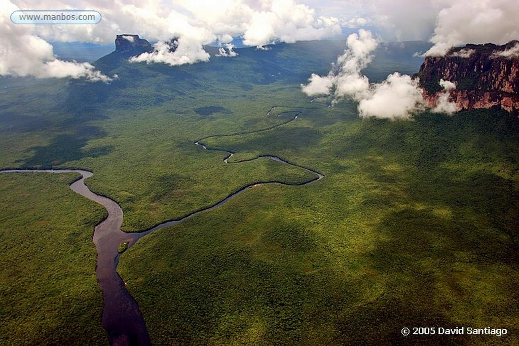 Parque Nacional Canaima Rio Carrao y Rio Churun Bolivar