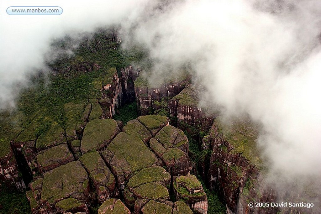 Parque Nacional Canaima Salto del Angel Bolivar