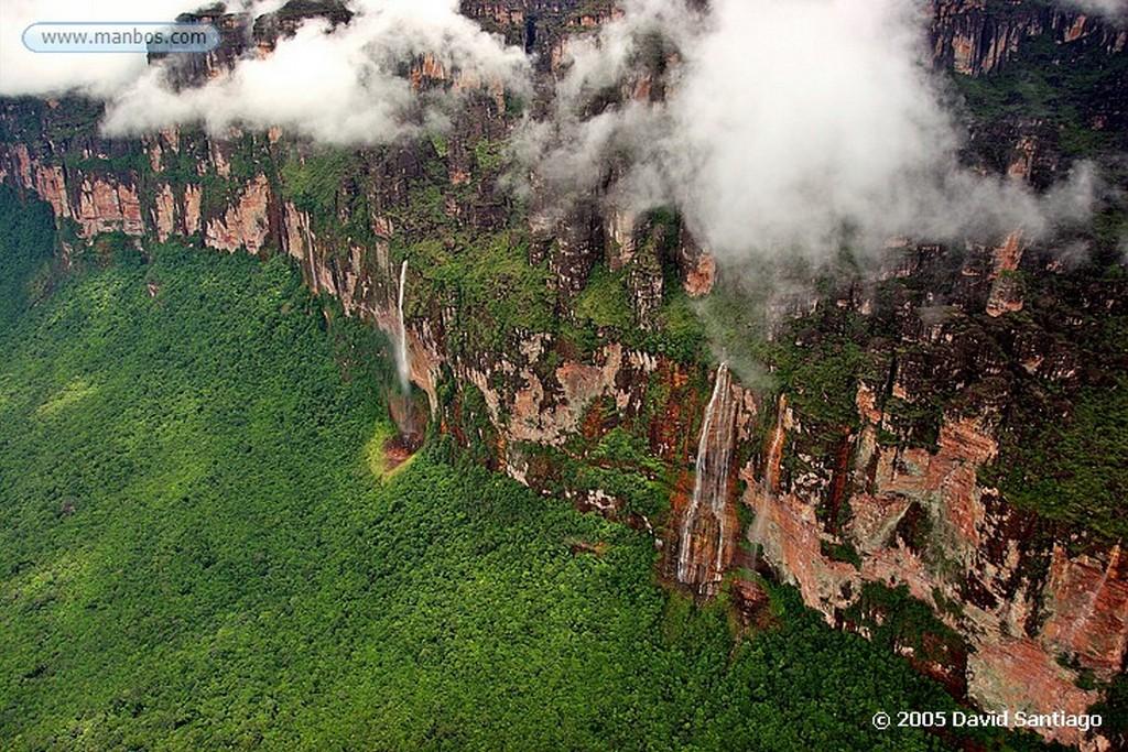 Parque Nacional Canaima Cañon Ahonda Bolivar
