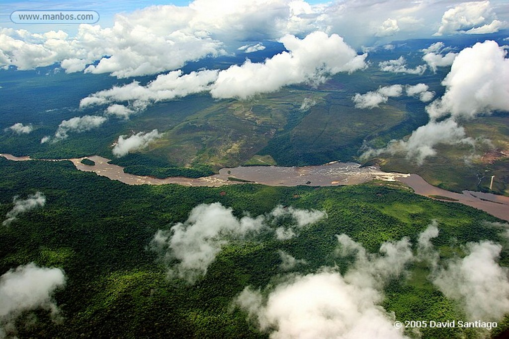 Parque Nacional Canaima Embalse de Guri Bolivar