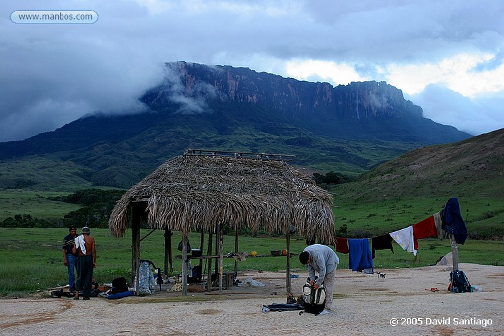 Parque Nacional Canaima Campamento Kukenan Bolivar