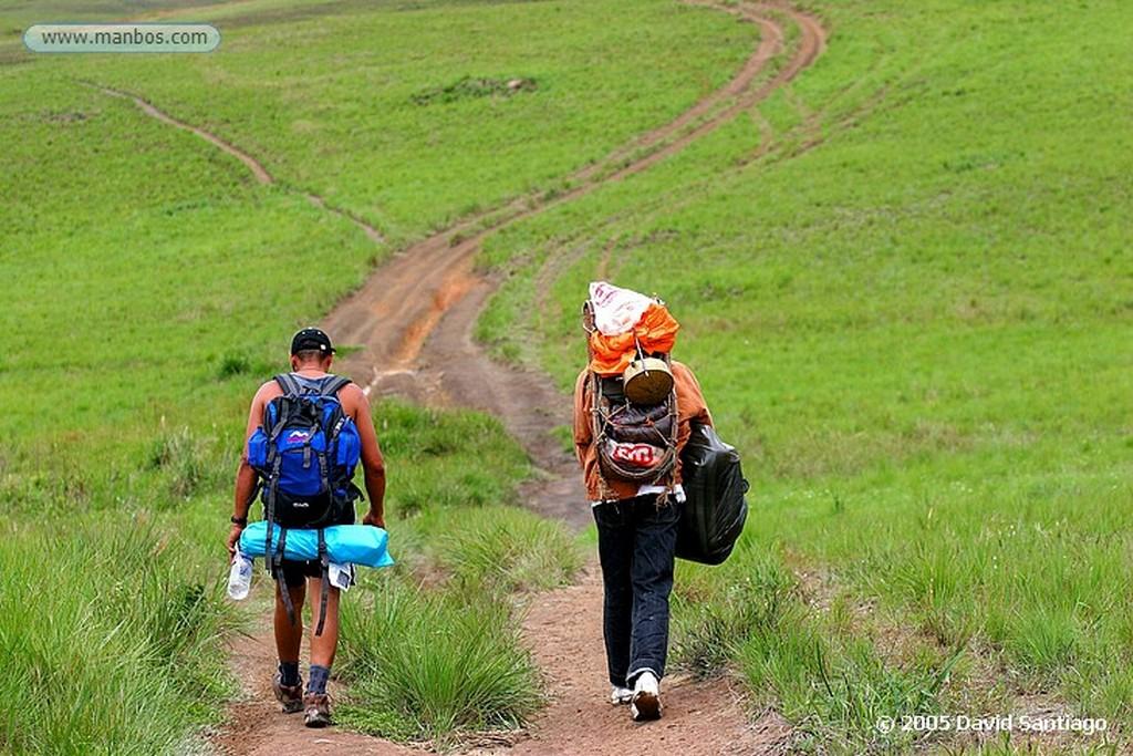 Parque Nacional Canaima Aproximacion al Roraima Bolivar
