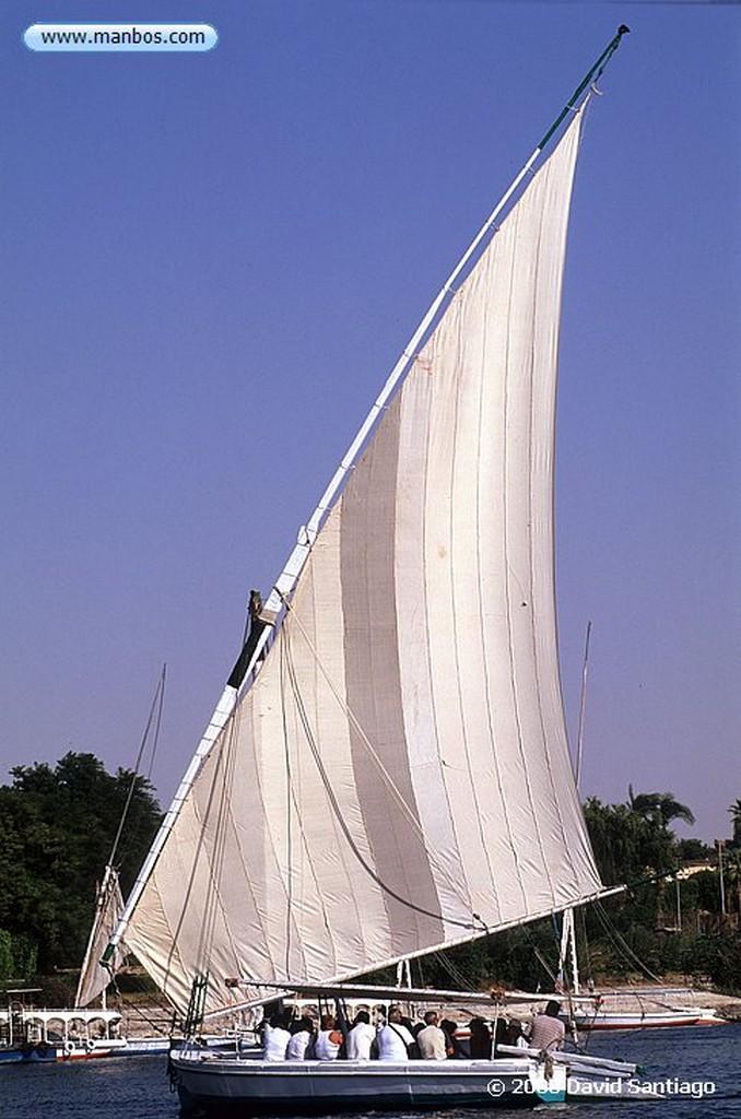 Rio Nilo Faluca por el rio Nilo Rio Nilo