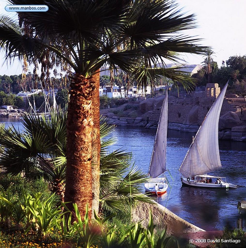 Rio Nilo Faluca sobre el rio Nilo-Asuan Rio Nilo