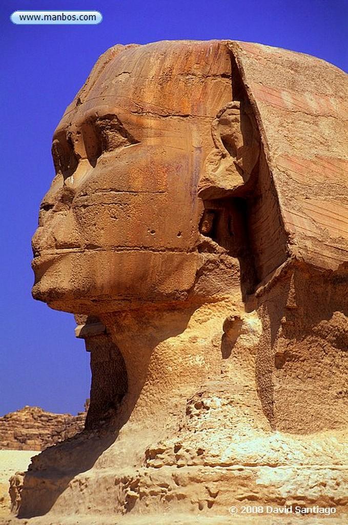 Giza La Esfinge-Meseta de Giza-Cairo Cairo