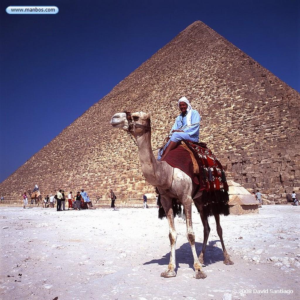 Giza Piramide de Jufu o Gran Piramide-Meseta de Giza-Cairo Cairo