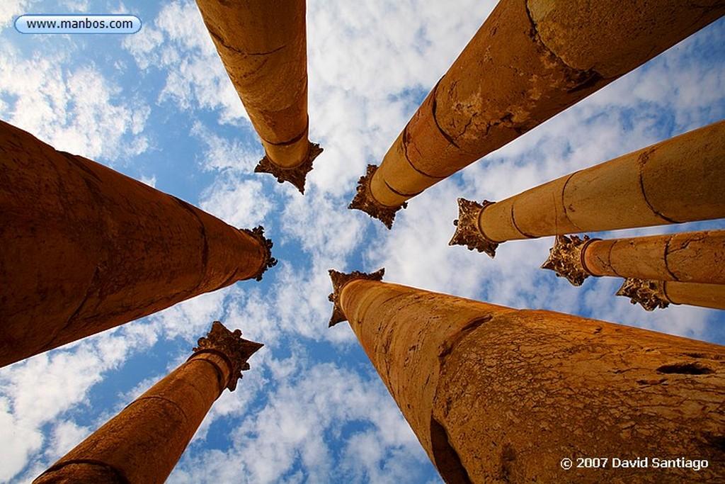 Jerash Jerash Jordania Jerash