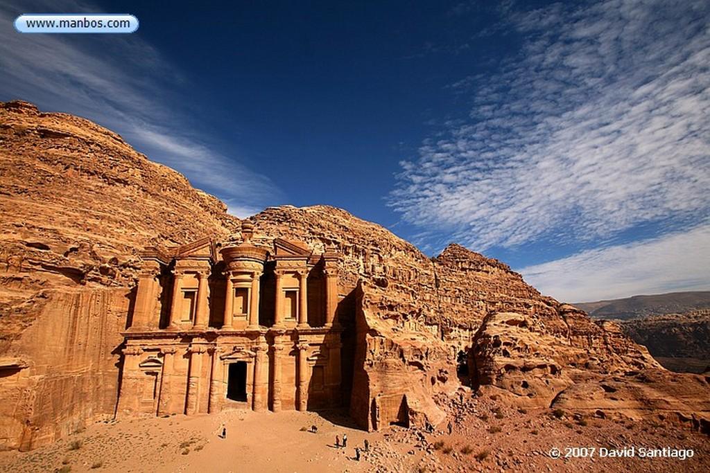 Petra Petra El Monasterio Jordania Petra