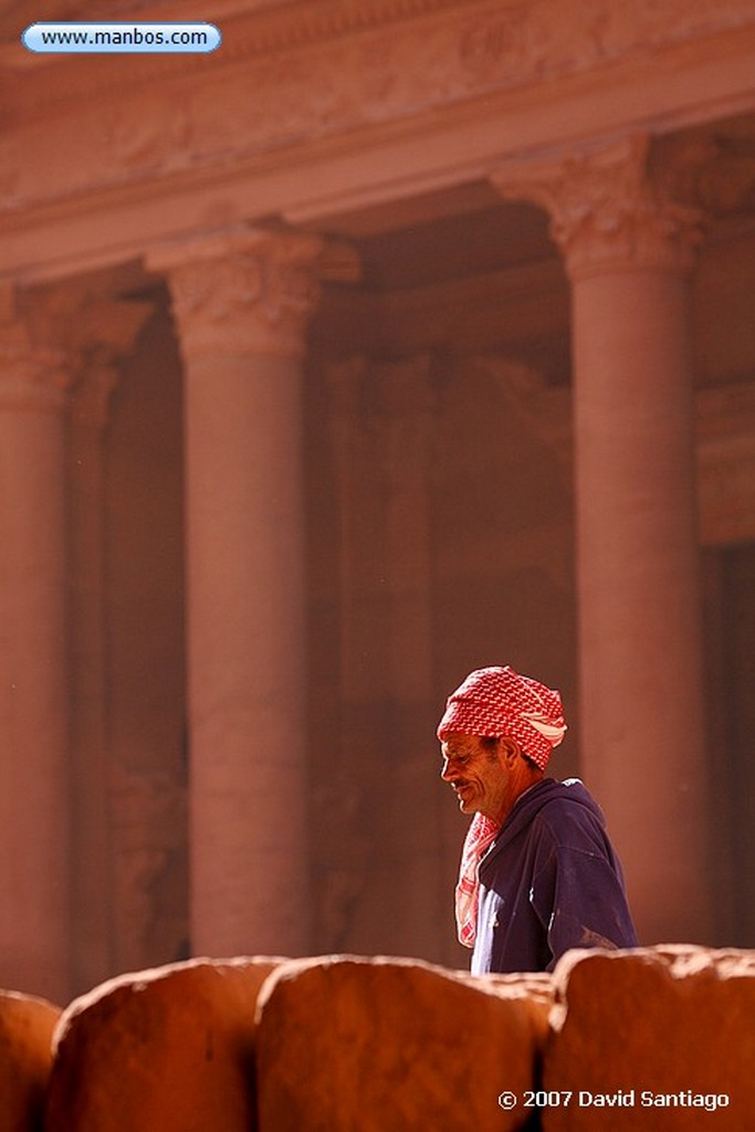 Petra Petra Gran Templo Jordania Petra
