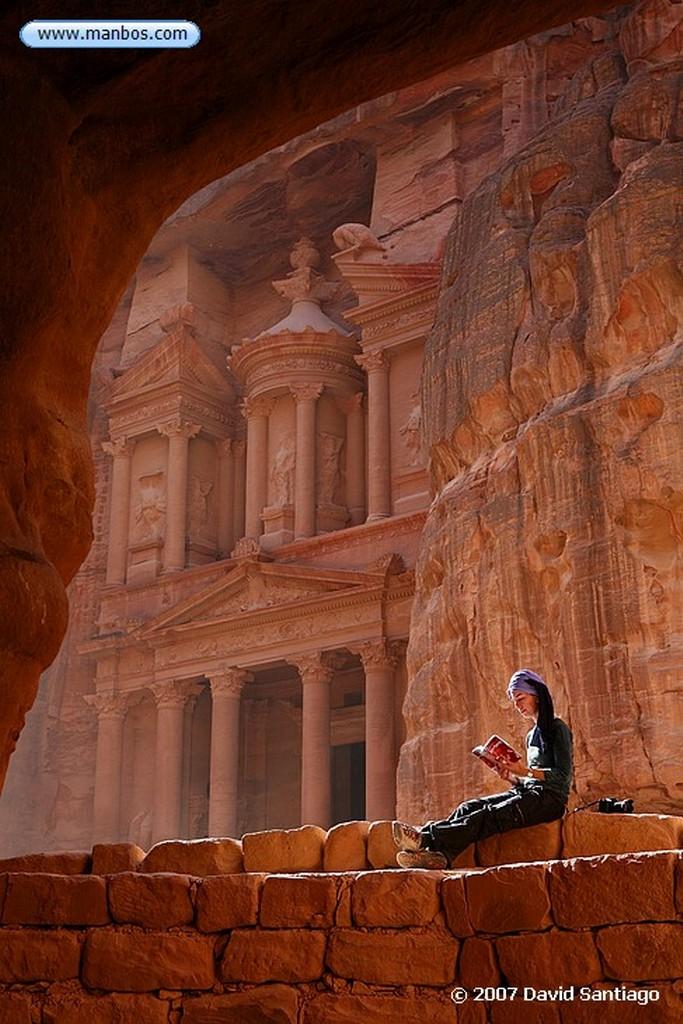 Petra Petra El Tesoro Jordania Petra