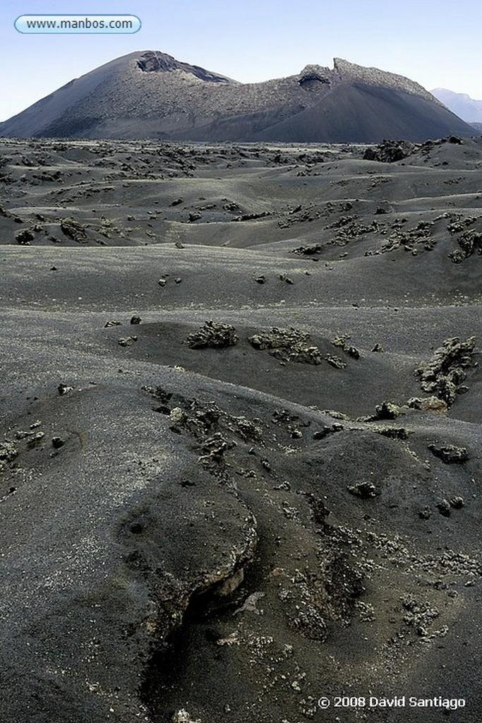 Lanzarote Parque Nacional del Timanfaya Canarias