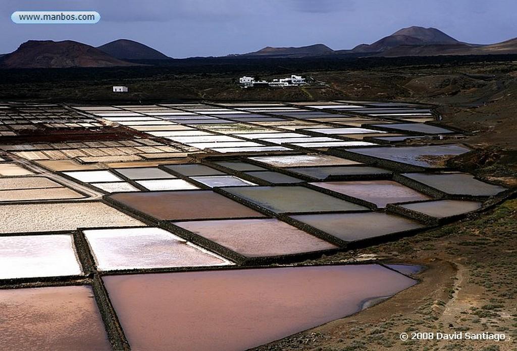 Lanzarote Salinas de Janubio Canarias