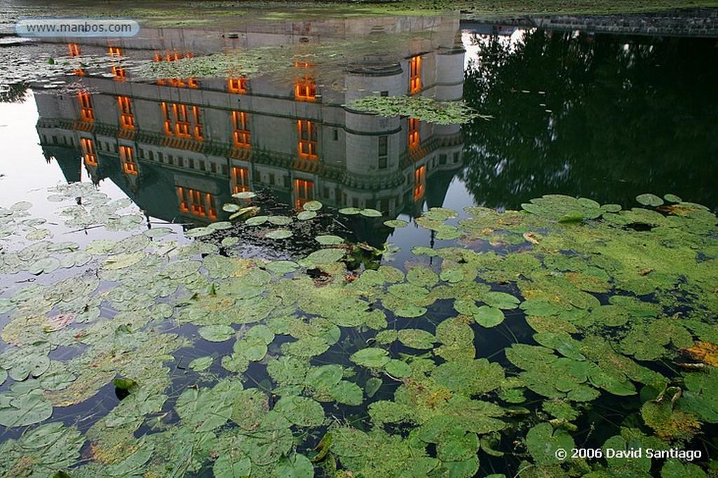 Valle del Loira Jardin en Chaumont Sur Loire Pays de la Loira