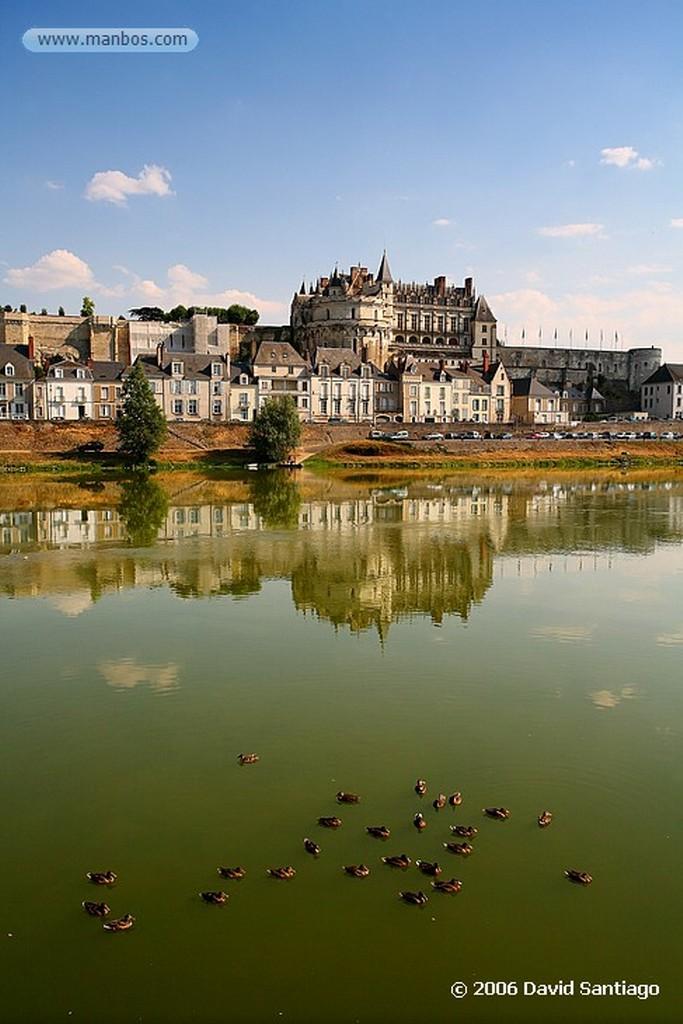Valle del Loira Jardines en el Castillo de Azay le Rideau Pays de la Loira