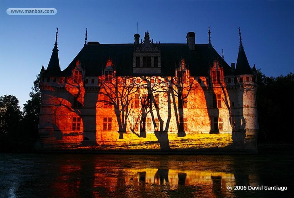 Valle del Loira Parque de le Clos-luce del Castillo de Amboise Pays de la Loira