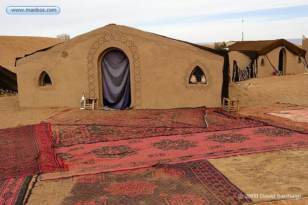 Erg Chigaga Campamento Con Oasis en Erg Chigaga Marruecos
