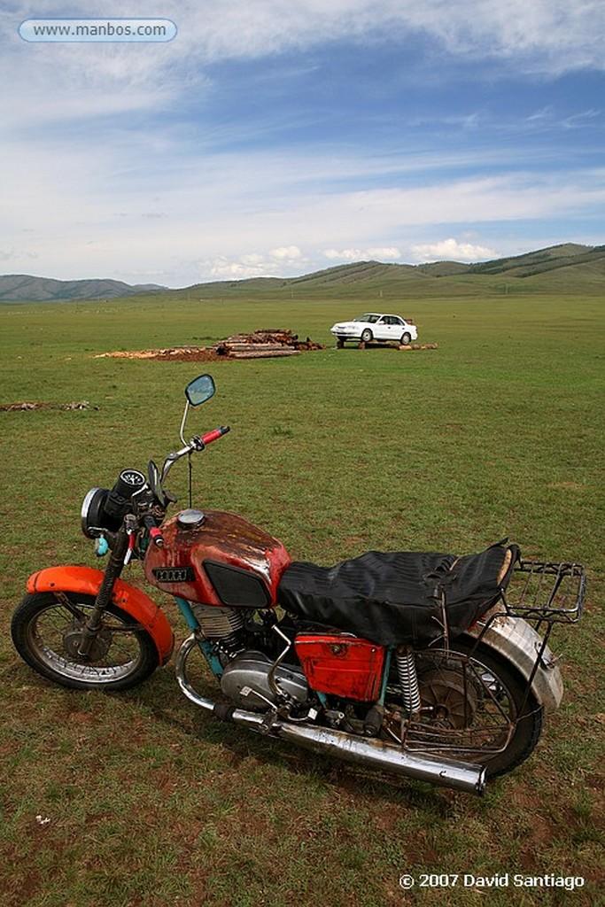 Mongolia Familia nómada Mongolia