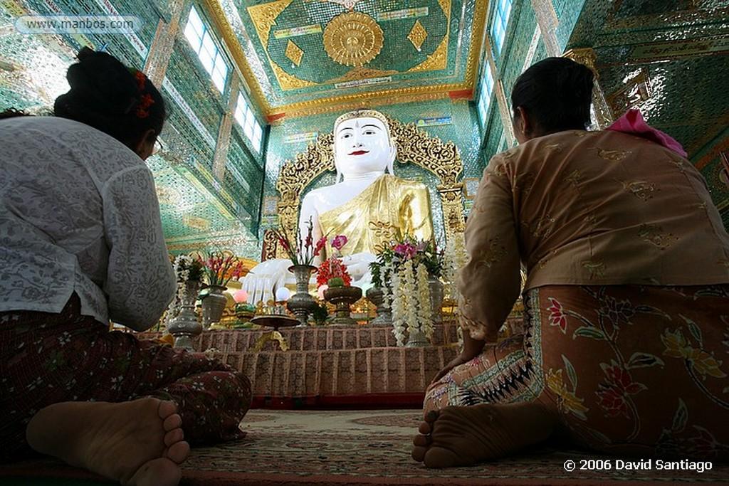 Mandalay Sagaing Hill en Mandalay Myanmar Mandalay