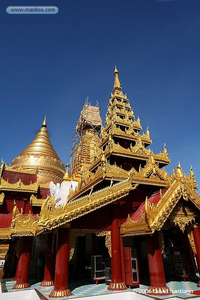Pagan Shwezigon Paya Pagan Myanmar Pagan